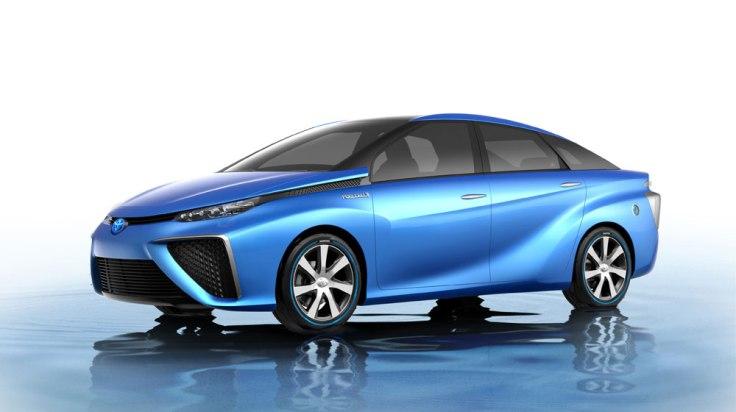 Mẫu xe tương lai Toyota FCV.