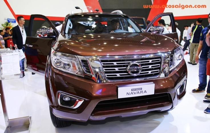 Nissan Navara cũng đang thực hiện cuộc bành trướng bằng việc thúc đẩy bán hàng xe bán tải của mình