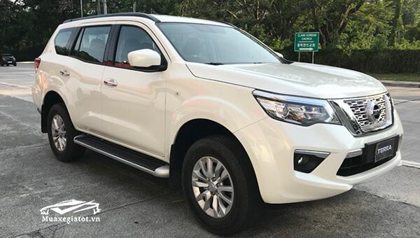 Hình ảnh xe Nissan Terra 2018 - 2019 sắp ra mắt Việt Nam
